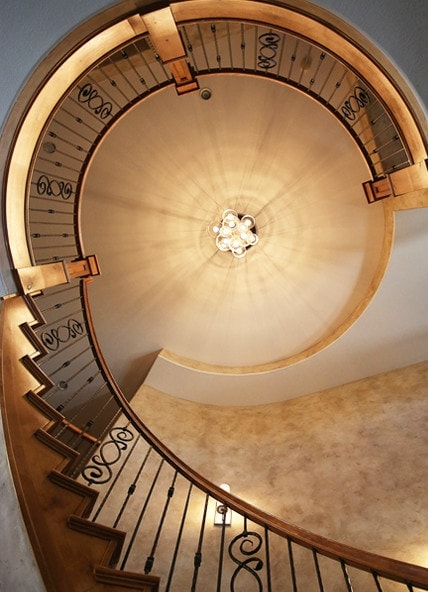 Staircase interior design by Denver's top interior designer - MARGARITA BRAVO