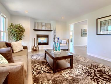 Living room interior design in Denver, CO by MARGARITA BRAVO