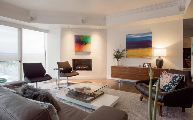 Girard Place Denver Living Room Interior