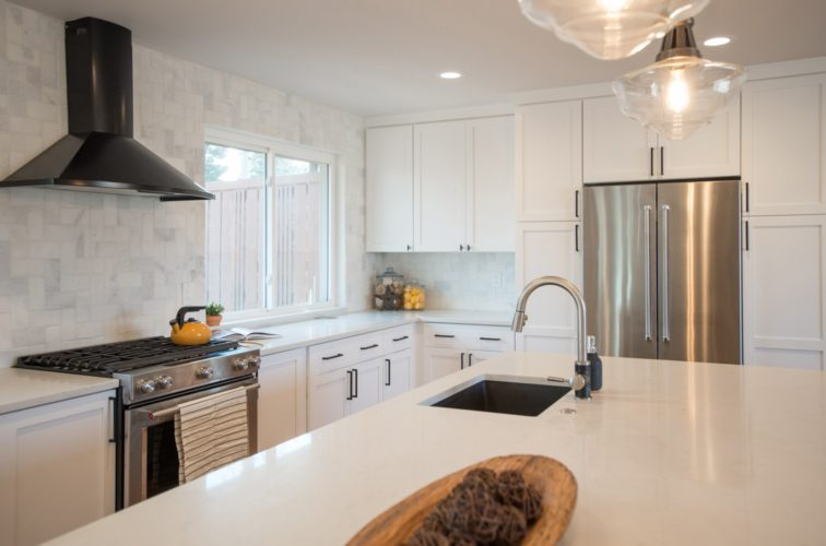 Golden Key Park White Kitchen Cabinets