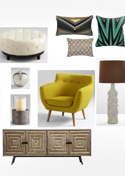 Interior design product sourcing by MARGARITA BRAVO in Denver, CO
