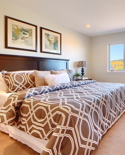 Master bedroom full-service interior design in Denver by MARGARITA BRAVO