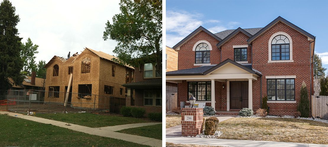 Observatory Before After House Exterior