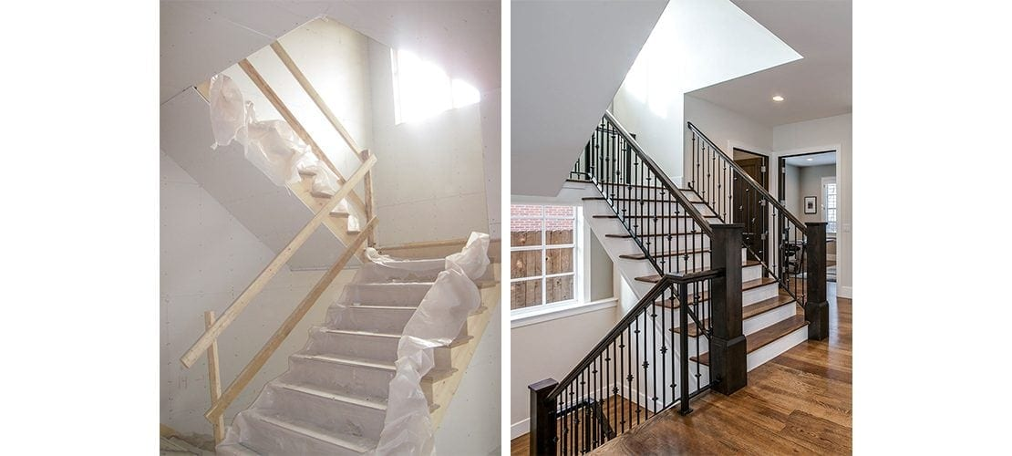 Observatory Before After Stairway