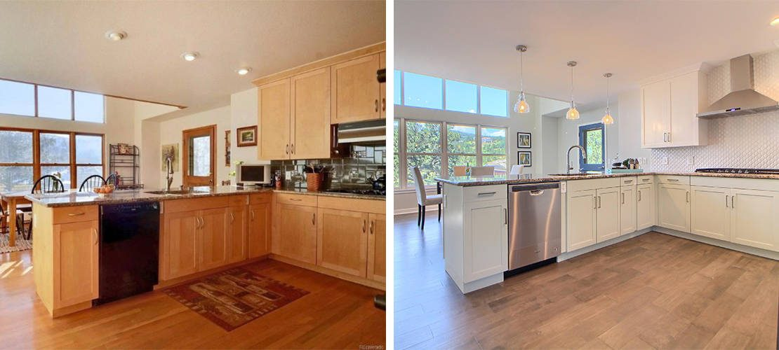 Riva Chase Before After Kitchen Design