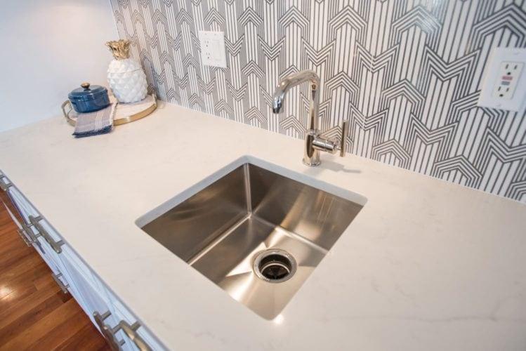 Bonnie Brae Denver Kitchen Sink Detail