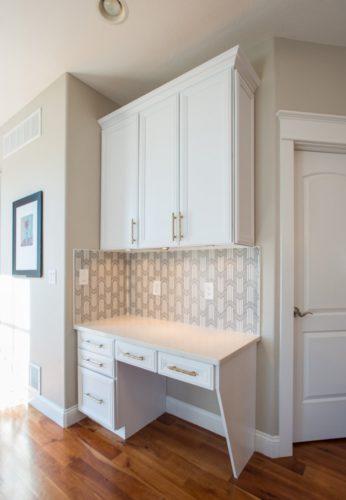 Denver Bonnie Brae Renovation White Cabinet Design