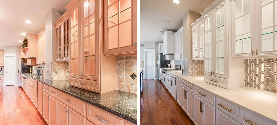 Margarita Bonnie Brae Kitchen Design Before After