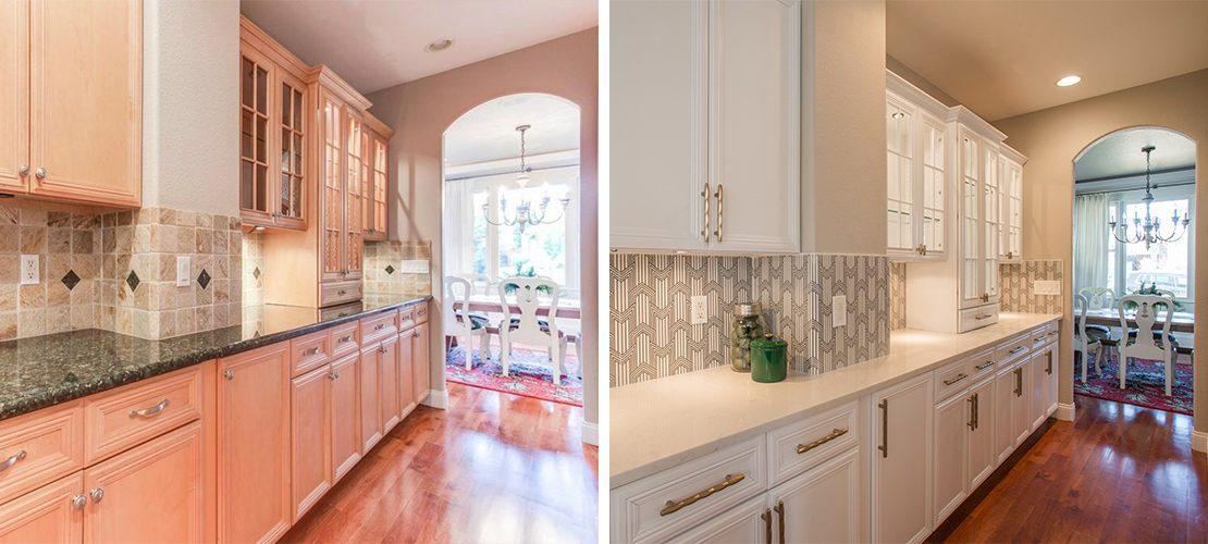 Margarita Bonnie Brae Kitchen Interiors Before After