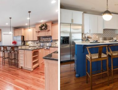 Margarita Bonnie Brae Open Kitchen Renovation Before After