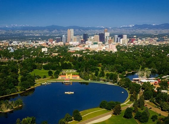 Denver Colorado Mountains City
