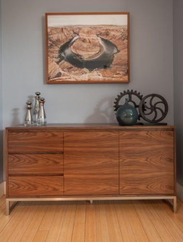 Downtown Denver Living Room Art Design