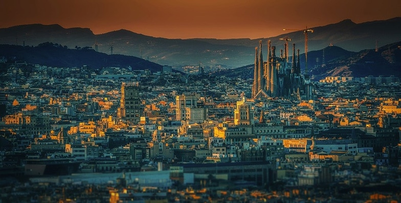 Barcelona City Spain