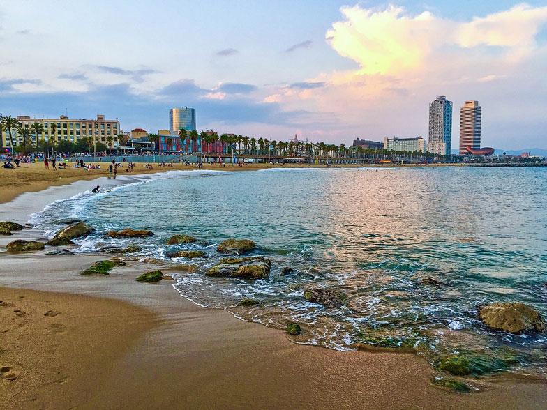 Barcelonas Gorgeous Sandy Beaches