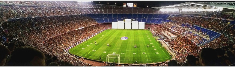 Soccer Ground Barcelona