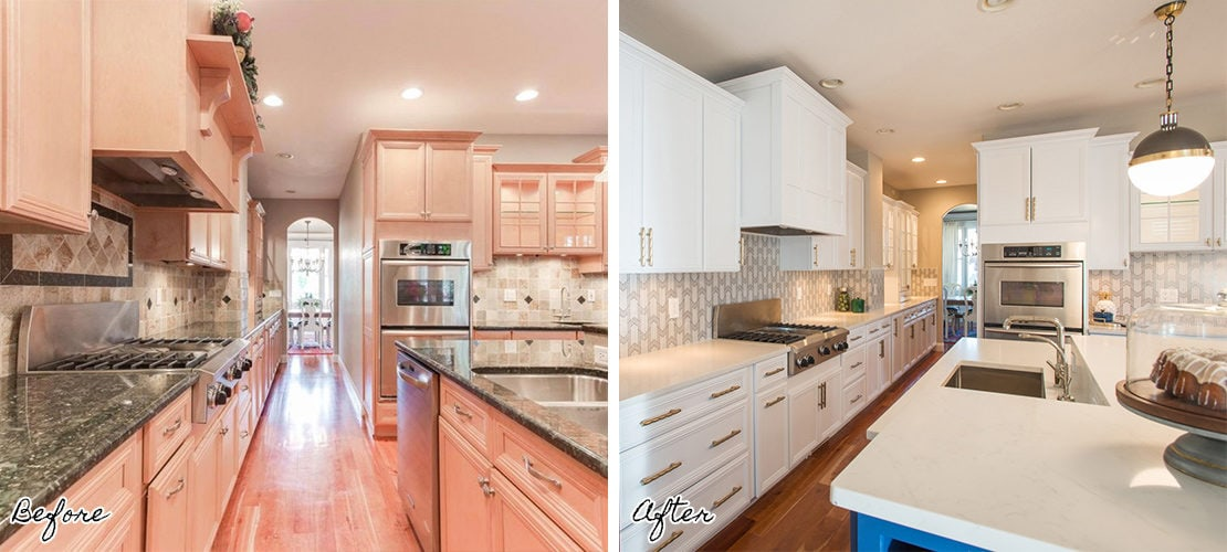 Bonnie Brae Kitchen Remodel Before After