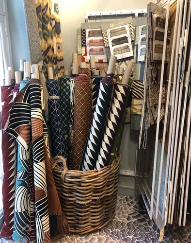 Exquisite Display Of Fabrics