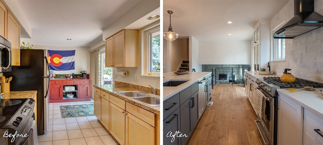 Goldenkey Before After Kitchen Remodel