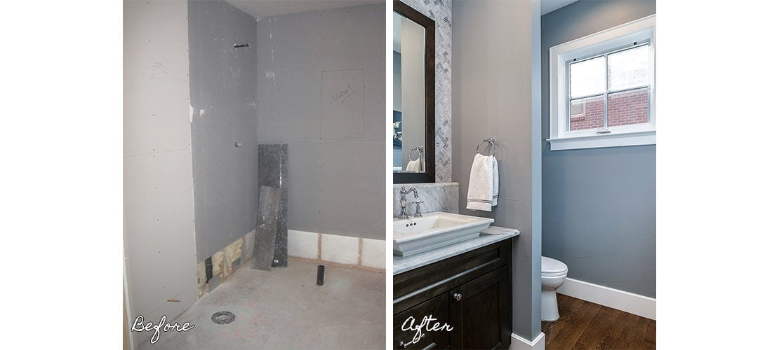 Observatory Before After Bathroom Remodel