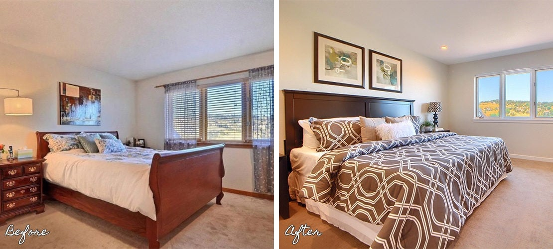 Riva Chase Before After Bedroom Renovation