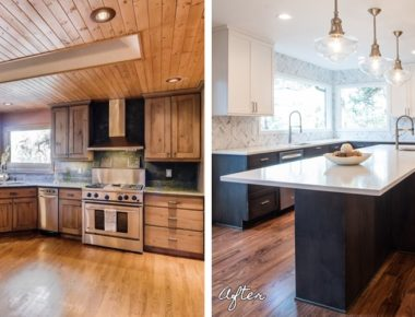 Evergreen Before And After Kitchen Renovation